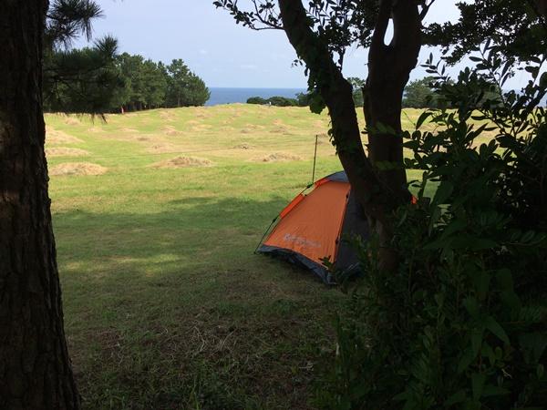 潮岬キャンプ場2