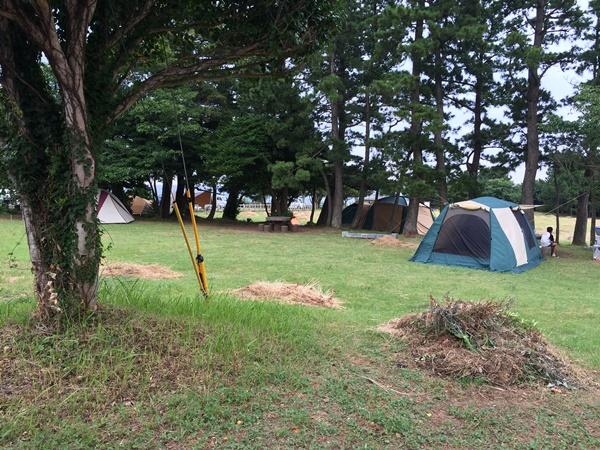 潮岬キャンプ場4